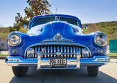 Blue 1947 Buick Super classic car — Photo