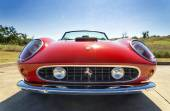 Red 1962 Ferrari 250 GT California Spyder — Foto Stock