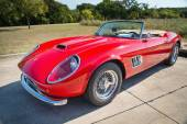 Red 1962 Ferrari 250 GT California Spyder — Foto de Stock
