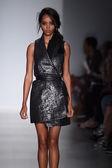 Model walks the runway at Marissa Webb during Mercedes-Benz Fashion Week Spring 2015 — Stock Photo