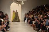 Models walk the runway finale at Ralph Lauren fashion show — Stockfoto