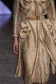 Model walks the runway at Donna Karan New York show — ストック写真