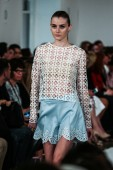 Oscar De La Renta fashion show during Mercedes-Benz Fashion Week — Stock fotografie