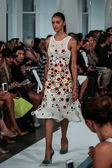 Oscar De La Renta fashion show during Mercedes-Benz Fashion Week — Zdjęcie stockowe
