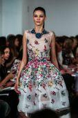 Oscar De La Renta fashion show during Mercedes-Benz Fashion Week — Stock Photo