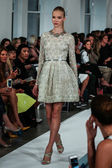 Oscar De La Renta fashion show during Mercedes-Benz Fashion Week — Photo