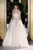 Oleg Cassini Fall 2015 Bridal collection — Stock Photo