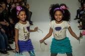Clarks preview at petite PARADE Kids Fashion Week — Stock Photo