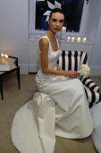 Carolina Herrera Bridal Presentation during Fall 2015 Bridal Collection — Stockfoto