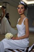Carolina Herrera Bridal Presentation during Fall 2015 Bridal Collection — Stock Photo