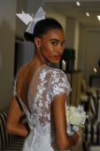 Carolina Herrera Bridal Presentation — Stockfoto