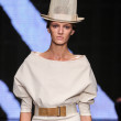 Daria Strokous walk the runway at Donna Karan New York — Stock Photo #57926257