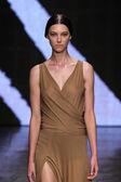 Model Stephanie Joy Field walk the runway at Donna Karan New York — Stock Photo