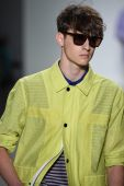 Richard Chai Love during Mercedes-Benz Fashion Week — Foto Stock