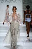 Zimmermann fashion show during Mercedes-Benz Fashion Week — Stock Photo