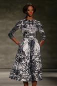 Luis Antonio fashion show during Mercedes-Benz Fashion Week — Foto de Stock