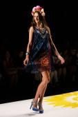 Desigual during Mercedes-Benz Fashion Week — Stock Photo