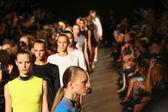 Alexander Wang fashion show — Stock Photo