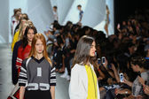 Finale at Lacoste during Mercedes-Benz Fashion Week — Stock Photo