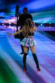 Ariana Grande during the 2014 Victoria's Secret Fashion Show — Stock Photo