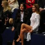 Jessie Ware and Millie Mackintosh attend the 2014 Victoria's Secret Fashion Show — Stock Photo #60103289