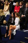 Jessie Ware and Millie Mackintosh attend the 2014 Victoria's Secret Fashion Show — Stock Photo
