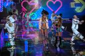 Ariana Grande at Victoria's Secret fashion show — Stock Photo