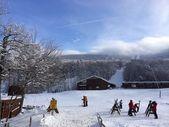 Ski lodge in New Hampshire — Stock Photo