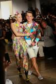 Jeremy Scott fashion show — Stock Photo