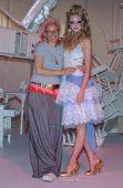 Designer Petro Zillia during Mercedes-Benz Fashion Week — Stock Photo