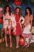 Petro Zillia Mercedes-Benz Fashion Week — Stock Photo