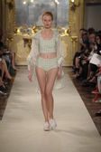 Cristiano Burani show as part of Milan Fashion Week — Stock Photo