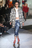 DSquared2 show as a part of Milan Fashion Week — Stock Photo