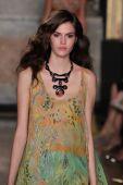 Emilio Pucci show as a part of Milan Fashion Week — Stock Photo