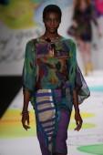 Desigual fashion show during Mercedes-Benz Fashion Week — Fotografia Stock