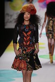 Desigual fashion show during Mercedes-Benz Fashion Week — Stockfoto
