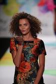 Desigual fashion show during Mercedes-Benz Fashion Week — ストック写真