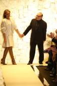 Max Azria and Lubov Azria — Stock Photo