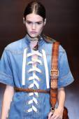Gucci show as a part of Milan Fashion Week — Stock Photo