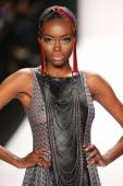 Mister Triple X design at the Art Hearts Fashion show — Stock Photo
