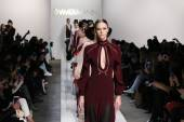 Zimmermann modeshow tijdens Mercedes-Benz Fashion Week Fall — Stockfoto