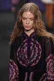 Anna Sui fashion show — Stock Photo