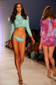 Luli Fama during MBFW Swim — Fotografia Stock