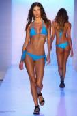 Mikoh Swim fashion show — Stock Photo