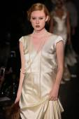 Johanna Johnson runway Show — Stock Photo
