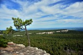 Hiking at Minnewaska State Park Reserve — Stock Photo