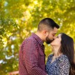 Young couple kissing — Stock Photo #65239235