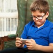 Boy playing games — Stock Photo #67247787