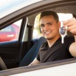Man showing his car keys — Stock Photo #71585247