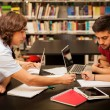 Students working together — Stock Photo #72580211